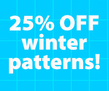 Dog Days #3 25% off winter patterns