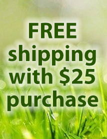 Dog Days #6: Free ship on $25 (AUGUST)