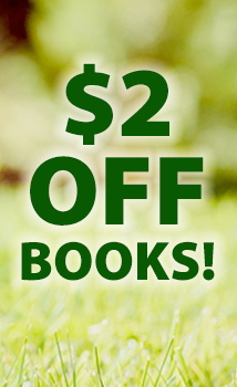 Dog Days #7: $2 off books (TWOBOOK)