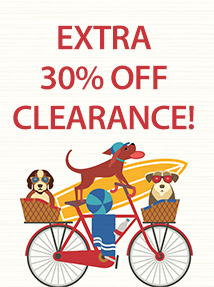 Dog Days #12: 30% off clearance (30CLEAR)