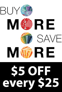 $5 off every $5 (EACH525)