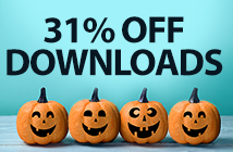 31% off downloads (SPOOK)