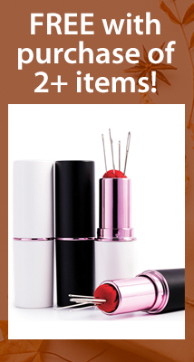 Free lipstick case with 2+ (FREEON2)
