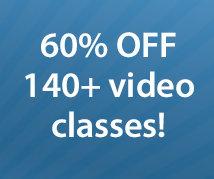 60% off classes (THISONE)
