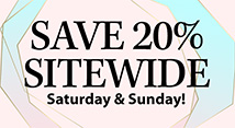 20% off sitewide (MEMDAY) prism