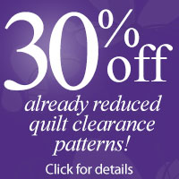 Up to 65% off Quilt Clearance
