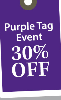 Purple Tag Sale: 30% OFF! (purple)