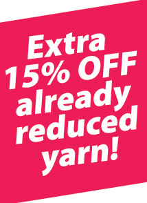 15% off yarn (special priced) OHSKEIN