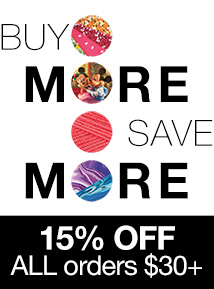 15% OFF $30+ (TAXING)