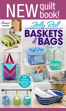 NEW quilt jelly roll book