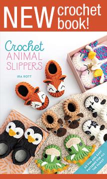 New crochet slippers book