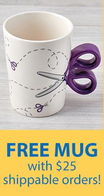FREE coffee mug wit $25 order! (freemug)