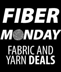 Fiber Monday: 30% off sel fab & yarn deals (FABSALE))