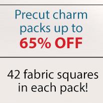 Fabric Liquidation - Charm Pack