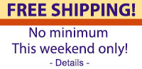 Free shipping on any order!*