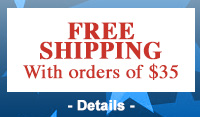FREE SHIPPING on orders of $35 or more!*