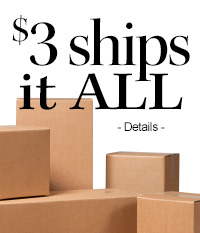 $3 shipping