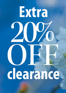 Take an EXTRA 20% off clearance!