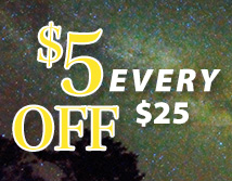 $5 off EVERY $25
