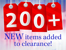 Pres Day Clearance 200+
