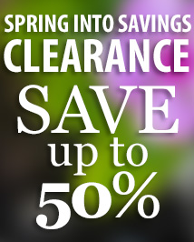 Spring into Savings, Clearance