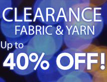 Fabric Yarn Clearance