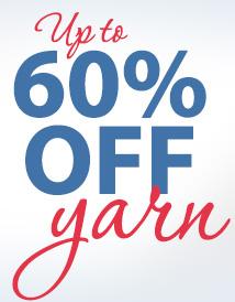 60% off yarn