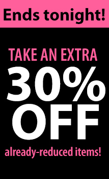 30% OFF sale (excl dl) Urgency SHINE