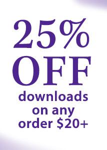 25% off DO $20 min 20Twnty