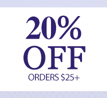 20% OFF $25+ (THANKYA)