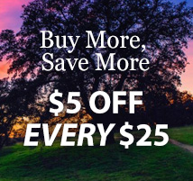 $5 off every $25 (FIVE25)