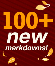 100+ new fall items added to clearance