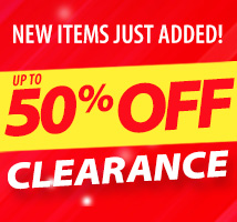 year end clearance, new items added