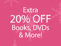 20% Off books, dvds etc (ACTASAP)