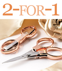 Rose gold scis 2 for 1 (tworose)