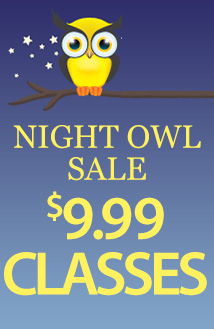 Night Owl 9.99 classes (9CLASS)