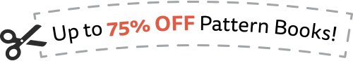 Up  to 75% OFFPattern Books