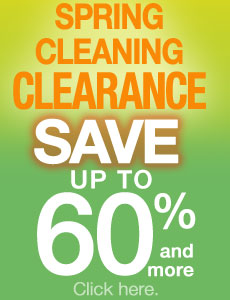 Spring Cleaning CLEARANCE SALE!