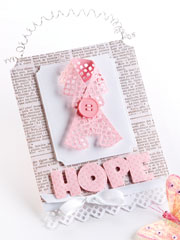 Hope Hanger Card Project