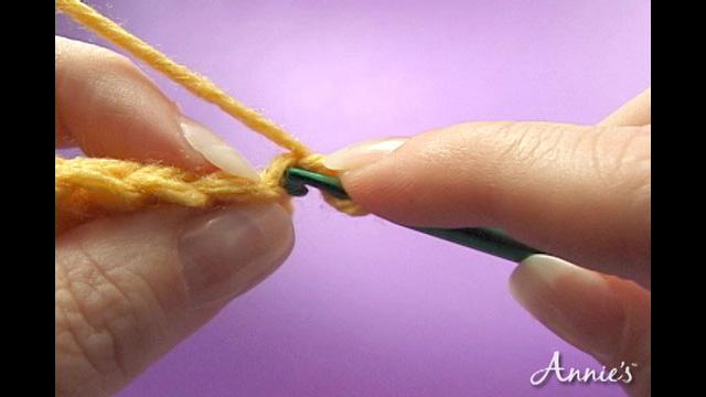 How to Back Loop Crochet