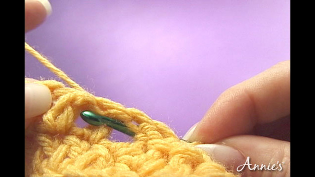 How to Back Post Crochet