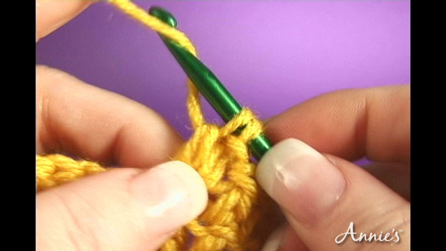 How to Crochet the Front Cross Stitch