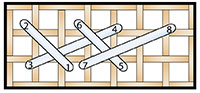 Long-arm Cross (over 2)