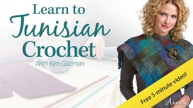Tunisian Crochet - Basic Tunisian Stitch